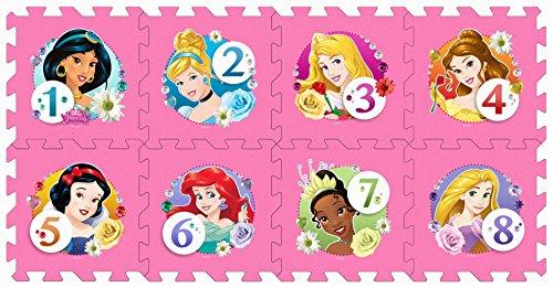 Stamp Tp880001 Puzzle Di Pavimento Tappeto Schiuma Marelle Princess 8 Pezzi 0