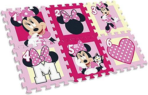 Tappeto In Gomma Puzzle Per Cameretta Dei Bambini 6 Pezzi In Schiuma Intrecciata Multicolore Unisex Eva32 Mix Per Bambini E Bambine Multicolore 0