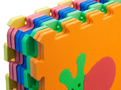 Teorema 72475 Tappeto Puzzle Con Animali Colori Assortiti 9 Pezzi 0 1