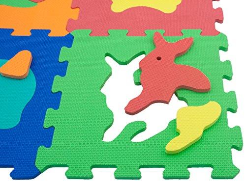 Teorema 72475 Tappeto Puzzle Con Animali Colori Assortiti 9 Pezzi 0 2