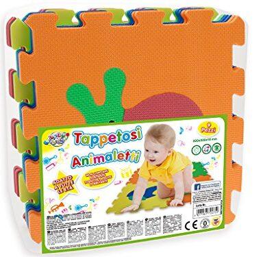 Teorema 72475 Tappeto Puzzle Con Animali Colori Assortiti 9 Pezzi 0