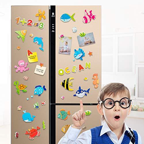 Uping Puzzle Magnetico Legno 130 Pezzi Con Lavagna A Double Face Per Bambini 3 Anni 0 3