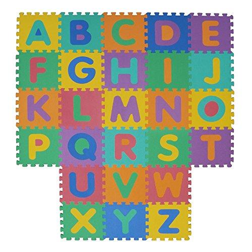 Velovendo Tappeto Puzzle Con Certificato Ce E Testato Tuv Rheinland In Soffice Schiuma Eva Tappeto Da Gioco Per Bambini Tappetino Puzzle Lettere Numeri 0 0