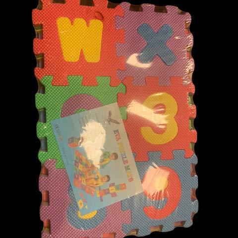 Weddecor Ad Incastro Tappeto Gioco Pavimento Mattonella Schiuma Morbida Puzzleprotezione Pavimentiimparare Superficie Per Bambini Multicolore 36pz Multi Small 0 4