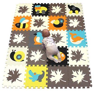 Yiminyuer Tappeto Puzzle Con Certificato Ce E Testato Tuv Rheinland In Soffice Schiuma Eva Tappeto Da Gioco Per Bambini Tappetino Puzzle A4a2707g301020 0