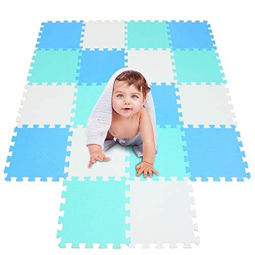 Meiqicool Tappeto Puzzle Con Certificato Ce E Certificazione Tuv In Soffice Schiuma Eva Tappeto Da Gioco Per Bambini Tappetino Puzzle 0 1