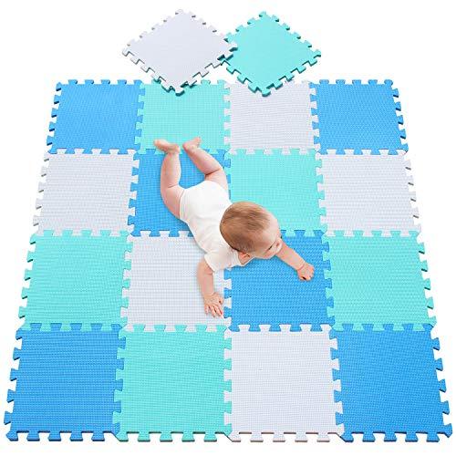 Meiqicool Tappeto Puzzle Con Certificato Ce E Certificazione Tuv In Soffice Schiuma Eva Tappeto Da Gioco Per Bambini Tappetino Puzzle 0