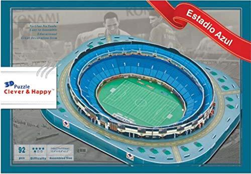 3d Estadio Stadio Azteca Puzzle Modello Piano Casa Jigsaw Modello Puzzle Per Bambini Giochi Fan Memento 34 275 55cm 0 0
