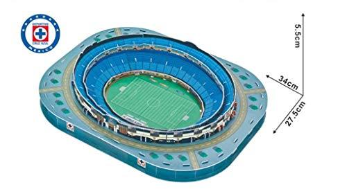 3d Estadio Stadio Azteca Puzzle Modello Piano Casa Jigsaw Modello Puzzle Per Bambini Giochi Fan Memento 34 275 55cm 0 3