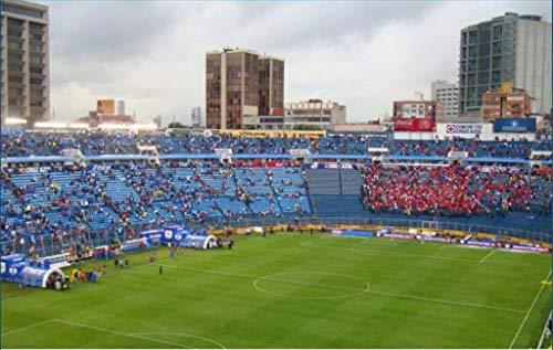 3d Estadio Stadio Azteca Puzzle Modello Piano Casa Jigsaw Modello Puzzle Per Bambini Giochi Fan Memento 34 275 55cm 0 4