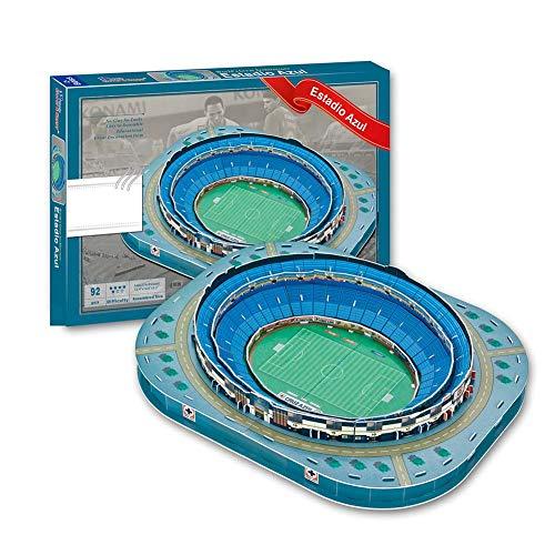 3d Estadio Stadio Azteca Puzzle Modello Piano Casa Jigsaw Modello Puzzle Per Bambini Giochi Fan Memento 34 275 55cm 0