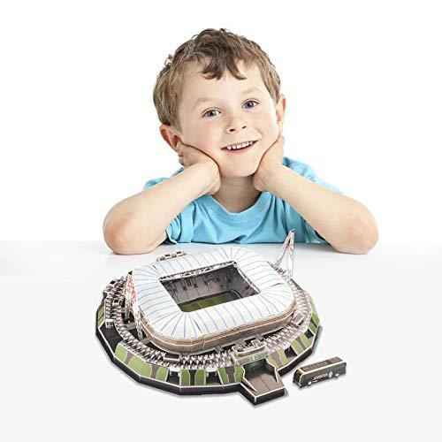 3d Puzzle Allianz Stadium Turin Stadio 3d Puzzle Kit Di Costruzione Del Modello Dello Stadio Per Bambini Adulti 0 0