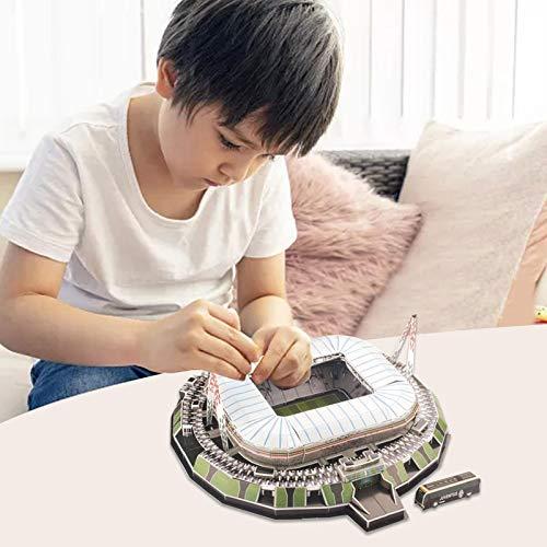 3d Puzzle Allianz Stadium Turin Stadio 3d Puzzle Kit Di Costruzione Del Modello Dello Stadio Per Bambini Adulti 0 1