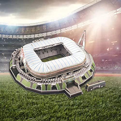 3d Puzzle Allianz Stadium Turin Stadio 3d Puzzle Kit Di Costruzione Del Modello Dello Stadio Per Bambini Adulti 0 2
