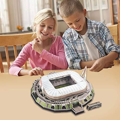3d Puzzle Allianz Stadium Turin Stadio 3d Puzzle Kit Di Costruzione Del Modello Dello Stadio Per Bambini Adulti 0 3