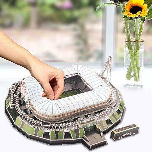 3d Puzzle Allianz Stadium Turin Stadio 3d Puzzle Kit Di Costruzione Del Modello Dello Stadio Per Bambini Adulti 0 4