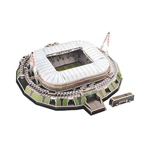 3d Puzzle Allianz Stadium Turin Stadio 3d Puzzle Kit Di Costruzione Del Modello Dello Stadio Per Bambini Adulti 0
