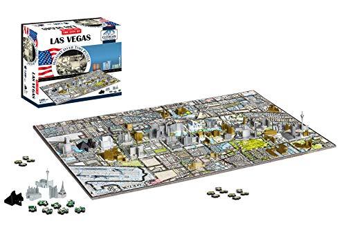 4d Cityscape Las Vegas Puzzle Multicolore Standard 40020 0 0