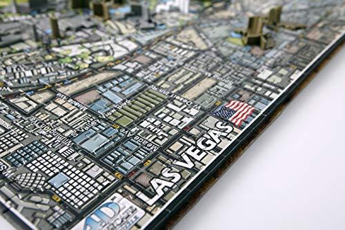 4d Cityscape Las Vegas Puzzle Multicolore Standard 40020 0 2