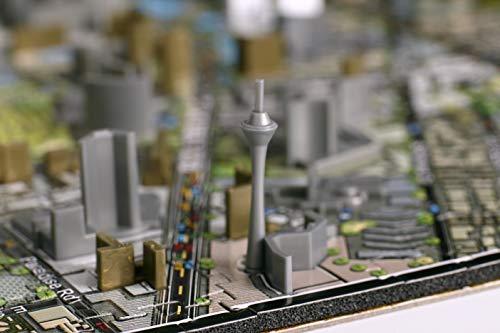 4d Cityscape Las Vegas Puzzle Multicolore Standard 40020 0 3