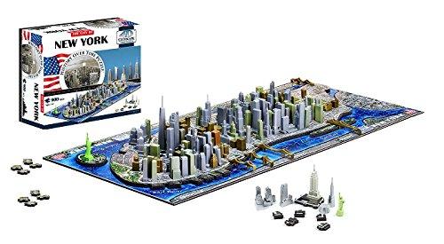 4d Cityscape New Yorkusa Puzzle Multicolore Taglia Unica 40010 0 0