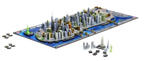 4d Cityscape New Yorkusa Puzzle Multicolore Taglia Unica 40010 0 1