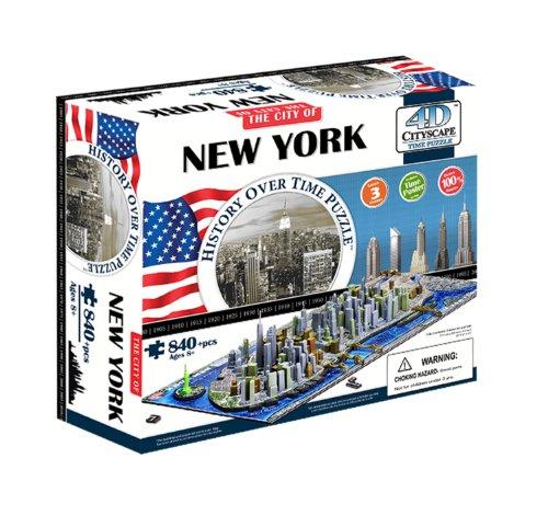4d Cityscape New Yorkusa Puzzle Multicolore Taglia Unica 40010 0