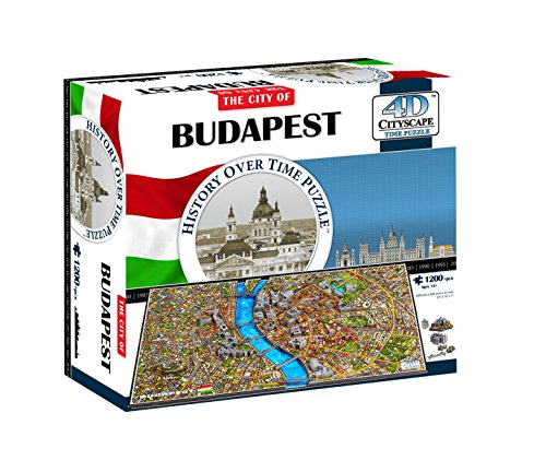 4dcityscape 40088 Budapest Puzzle 0