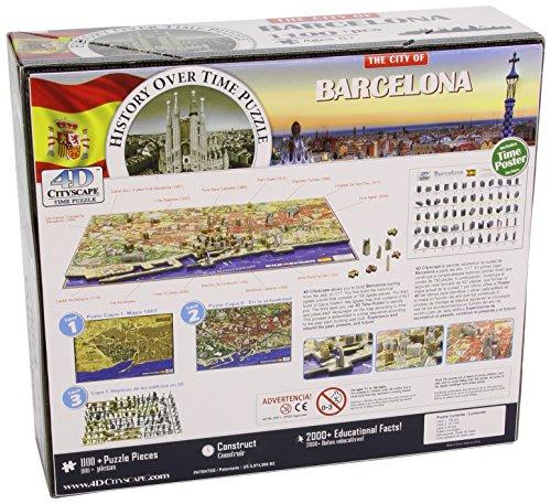4dcityscape Time Puzzle Barcellona 0 0