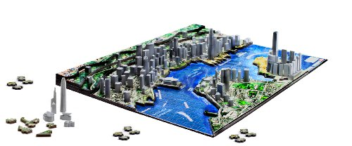 4dcityscape Time Puzzle Hong Kong 0 0