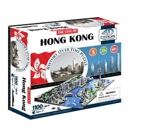 4dcityscape Time Puzzle Hong Kong 0