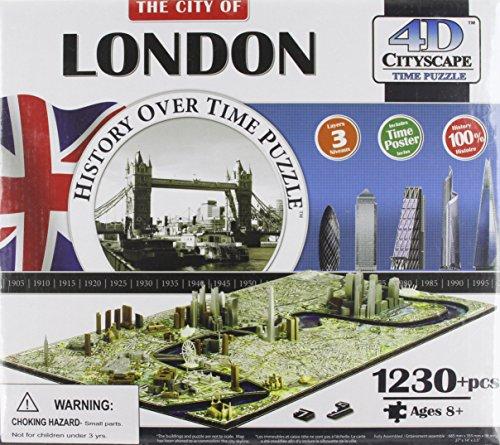 4d Cityscape London History Time 1230 Piecesrilegatura Sconosciuta 1 Gennaio 2013 0