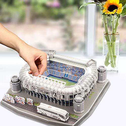 Ab Estadio Santiago Bernabeu Modello Di Puzzle 3d Kit Di Puzzle 3d Di Alta Qualita Per La Costruzione Di Stadio Per Bambini Regalo Per Adulti 0 0