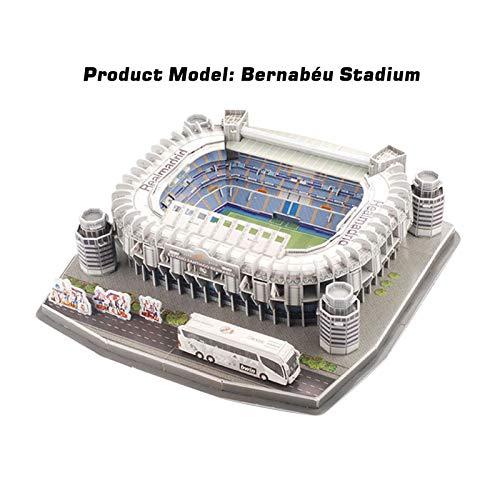 Ab Estadio Santiago Bernabeu Modello Di Puzzle 3d Kit Di Puzzle 3d Di Alta Qualita Per La Costruzione Di Stadio Per Bambini Regalo Per Adulti 0 3