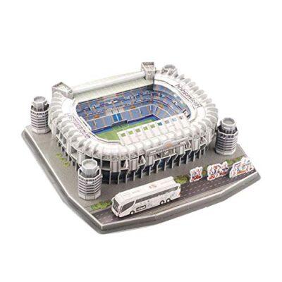 Ab Estadio Santiago Bernabeu Modello Di Puzzle 3d Kit Di Puzzle 3d Di Alta Qualita Per La Costruzione Di Stadio Per Bambini Regalo Per Adulti 0