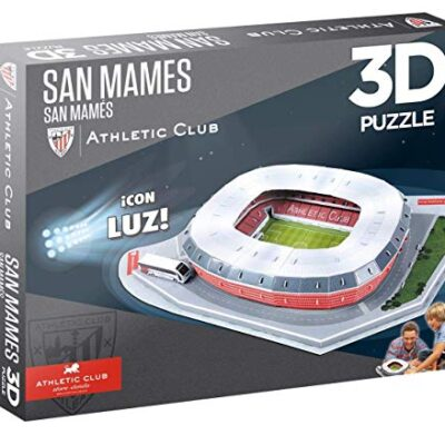 Athletic Club Puzzle 3d Con Luce Stadio San Mames Eleven Force 14085 0