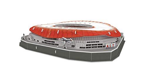 Atletico De Madrid Puzzle 3d Stadio Wanda Metropolitano Con Luce 14061 0 1
