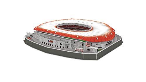 Atletico De Madrid Puzzle 3d Stadio Wanda Metropolitano Con Luce 14061 0 3