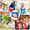 Bellestyle Puzzle In Legno Multicolore Alfabeto Abc Lettere Numeri Forme In Legno Puzzle Tavoletta Manopola Montessori Apprendimento Precoce Educativo Giocattoli Giochi Set Per Bambini 3 Pezzi 0 0