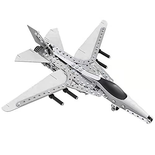 Caleson Fighter Puzzle In Metallo 3d Kit Di Costruzione Di Modelli Rompicapo Con Taglio Laser Puzzle Fai Da Te E Kit Modello 3d 0 1