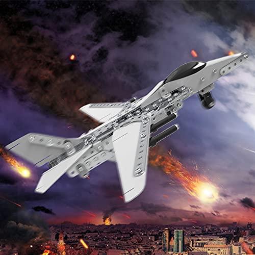 Caleson Fighter Puzzle In Metallo 3d Kit Di Costruzione Di Modelli Rompicapo Con Taglio Laser Puzzle Fai Da Te E Kit Modello 3d 0 5