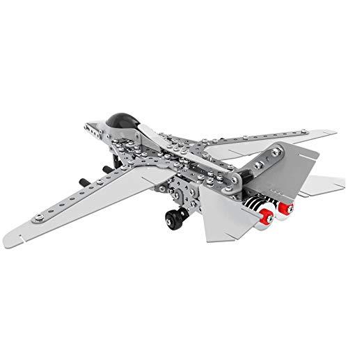 Caleson Fighter Puzzle In Metallo 3d Kit Di Costruzione Di Modelli Rompicapo Con Taglio Laser Puzzle Fai Da Te E Kit Modello 3d 0