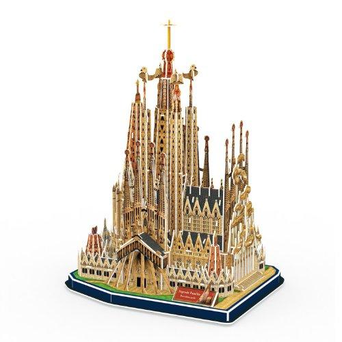 Cubic Fun Cattedrale Di Sagrada Familia Modellino Puzzle 3d Multicolore Mc153h 0 1