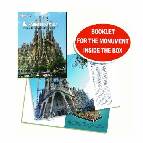 Cubic Fun Cattedrale Di Sagrada Familia Modellino Puzzle 3d Multicolore Mc153h 0 3