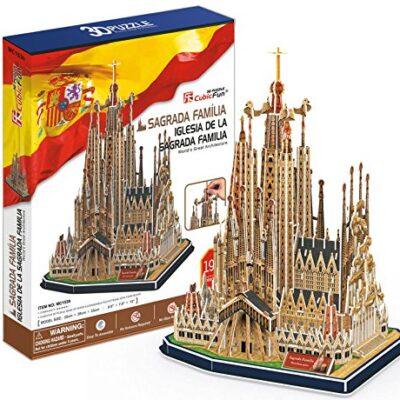 Cubic Fun Cattedrale Di Sagrada Familia Modellino Puzzle 3d Multicolore Mc153h 0