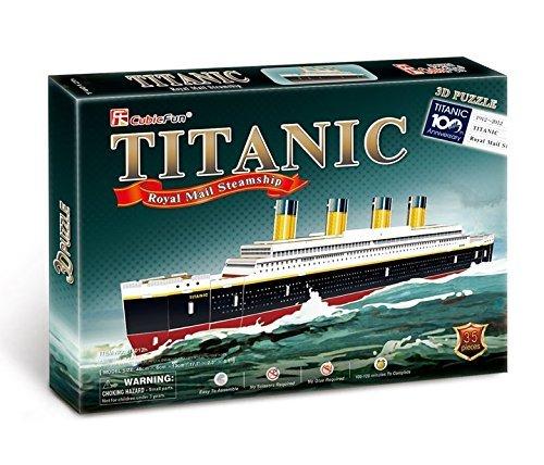 Cubic Fun Titanic Modellino Puzzle 3d Multicolore T4012h 0 0