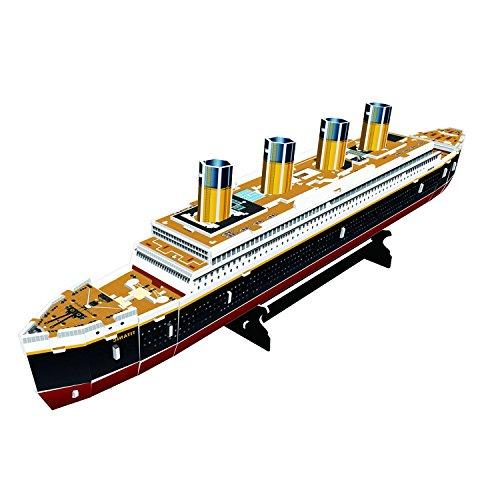 Cubic Fun Titanic Modellino Puzzle 3d Multicolore T4012h 0 1