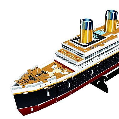 Cubic Fun Titanic Modellino Puzzle 3d Multicolore T4012h 0 2