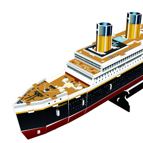 Cubic Fun Titanic Modellino Puzzle 3d Multicolore T4012h 0 3