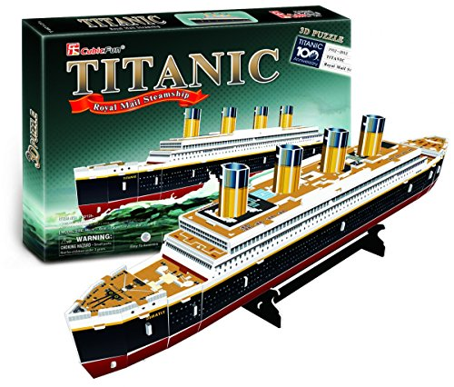 Cubic Fun Titanic Modellino Puzzle 3d Multicolore T4012h 0